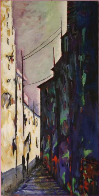 500_170908 Le Hérisson Peinture Lucien Zilberstein_9265
