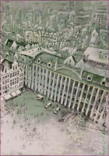 504_170908 Le Hérisson Peinture Lucien Zilberstein_9271