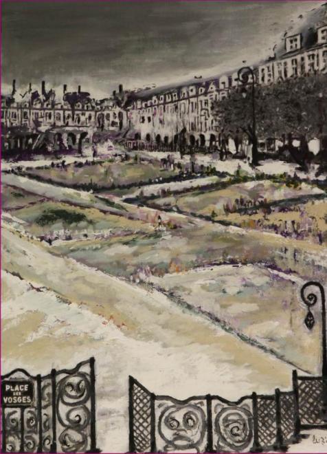 510_170908 Le Hérisson Peinture Lucien Zilberstein_9277